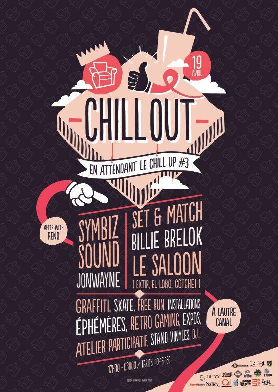 NANCY - L'AUTRE CANAL - CHILLOUT - Samedi 19 avril 2014 à partir de 17h30