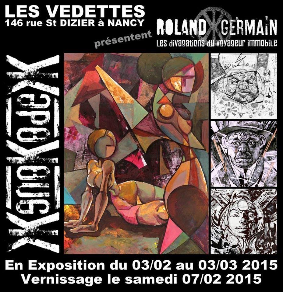 BAR LES VEDETTES - VERNISSAGE XENOKODEX - Samedi 7 Février 2015 à partir de 19h30 ...