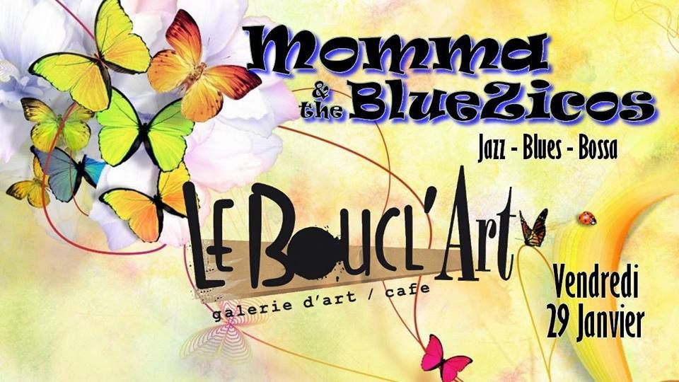 CONCERT - MOMMA & THE BLUEZICOS - JAZZ * BLUES * BOSA - Vendredi 29 Janvier 2016 à partir de 20h00