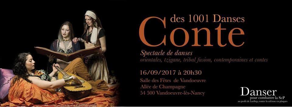 VANDOEUVRE (54) - DANSER POUR COMBATTRE LA SEP - Samedi 16 Septembre 2017 à 20h30 ...