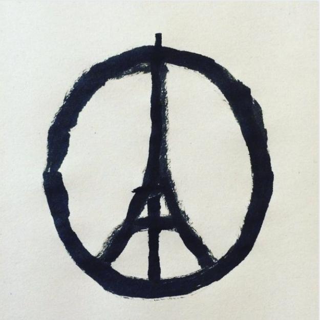 Merci à Jean Julien d'avoir résumé en un dessin simple le désir de paix de millions de personnes.