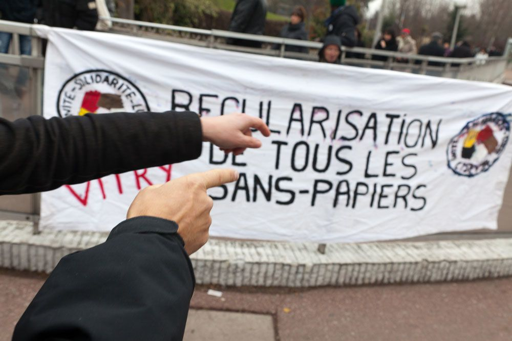 Travailleurs sans papiers de Vitry : Manif samedi 13 juin à 10h30