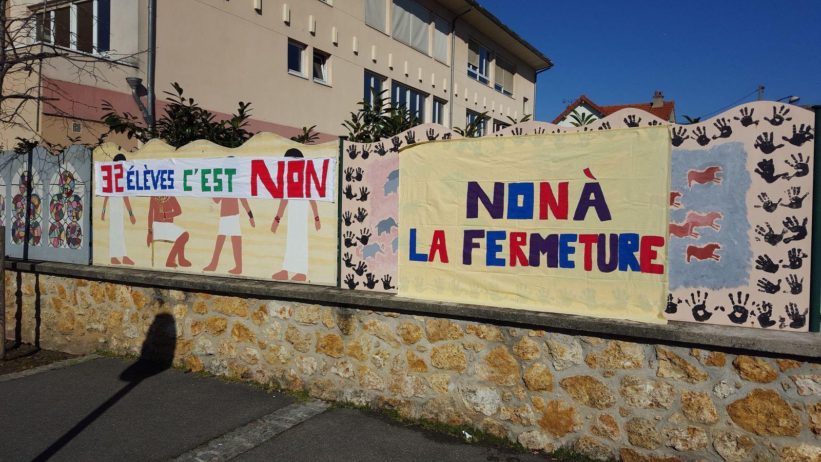 Education : contre les fermetures de classe dans le 94 : signons la pétition