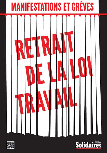 Retrait de la loi travail : le dernier tract de Solidaires