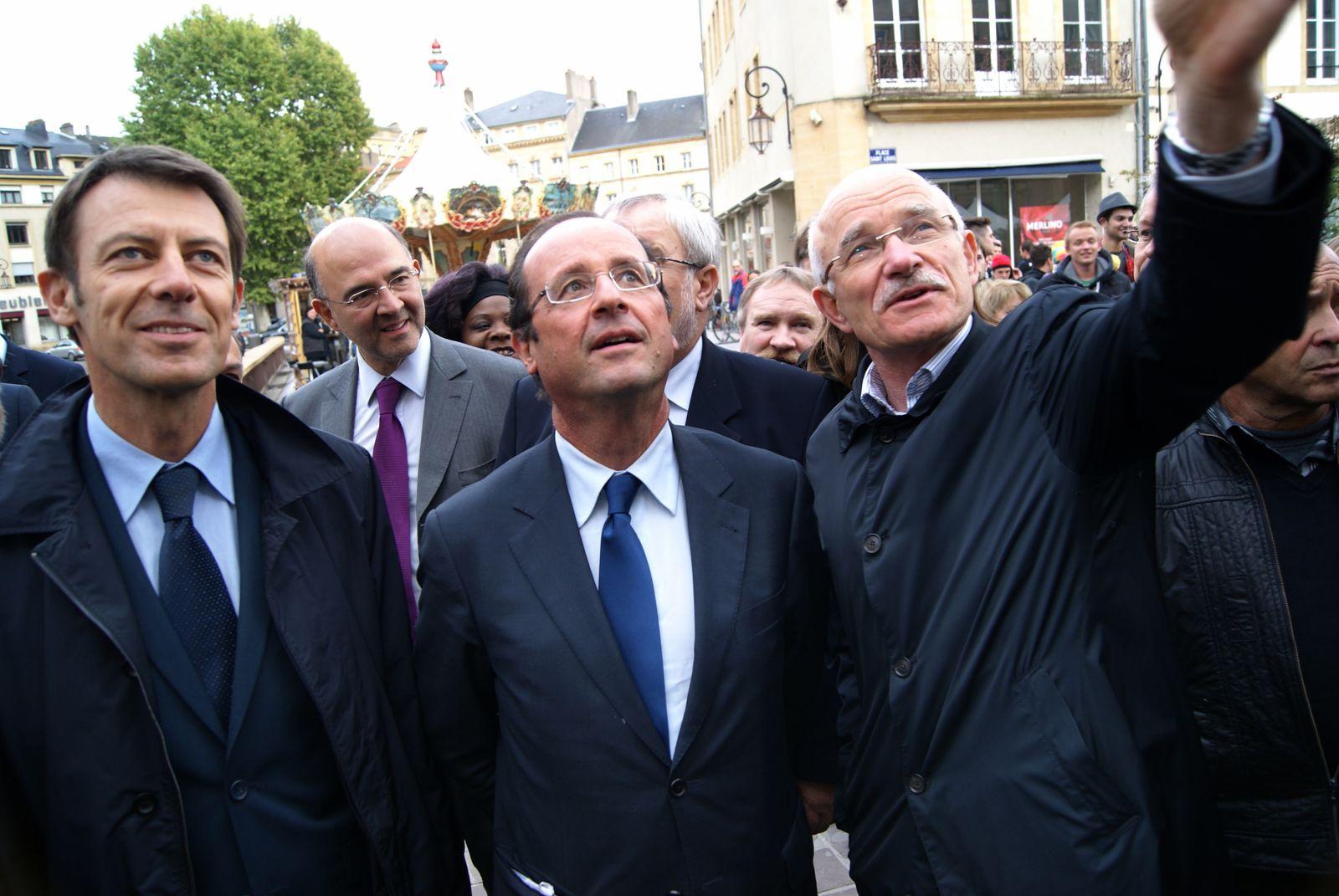 Hollande lance son tour de France