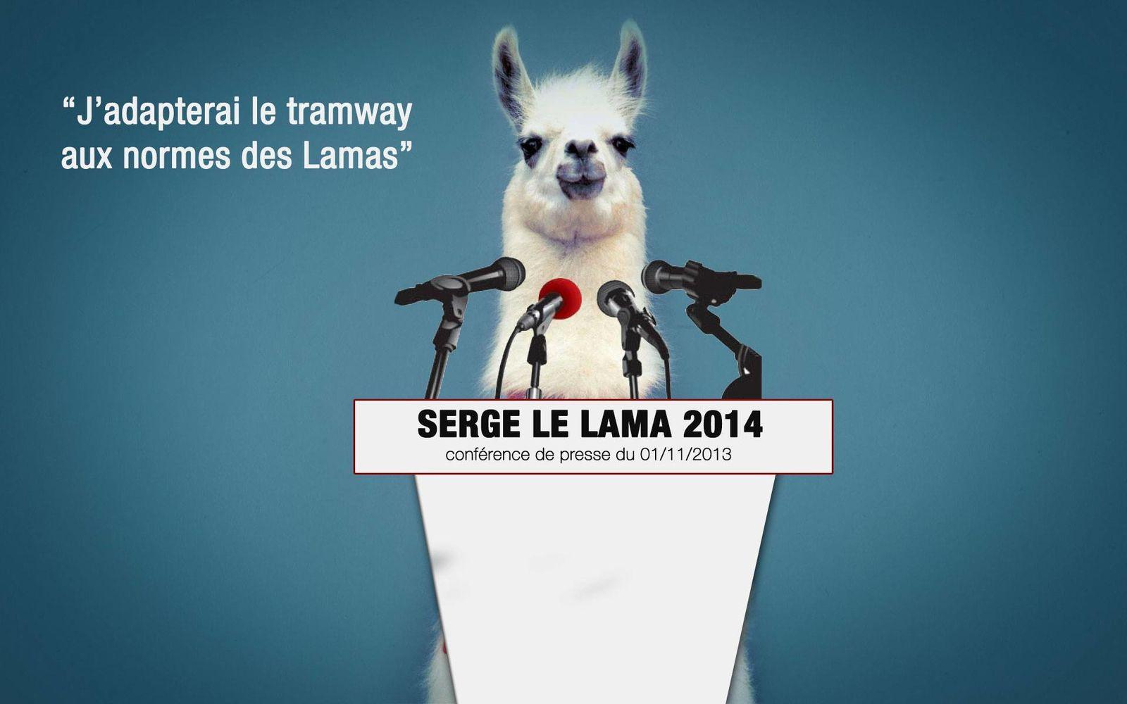 La parabole «Serge le Lama»