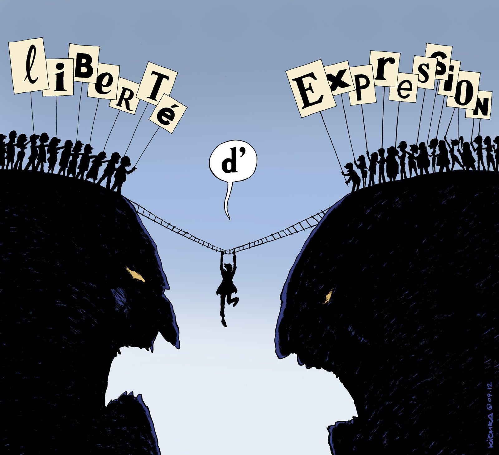 Liberté d'expression : deux poids, deux mesures ? En fait non !
