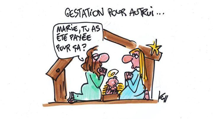 Humour du jour &#x3B; &quot&#x3B;Marie et la GPA&quot&#x3B;