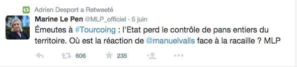 Adrien Desport : le pauvre type du Front national