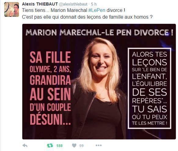 L'info de l'été &#x3B; l'ex de Marion Maréchal-Le Pen en couple avec un homme...