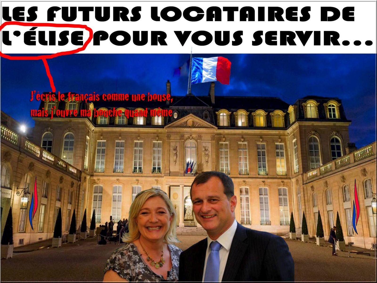 Dans la série «je suis Front national et je cause français»...