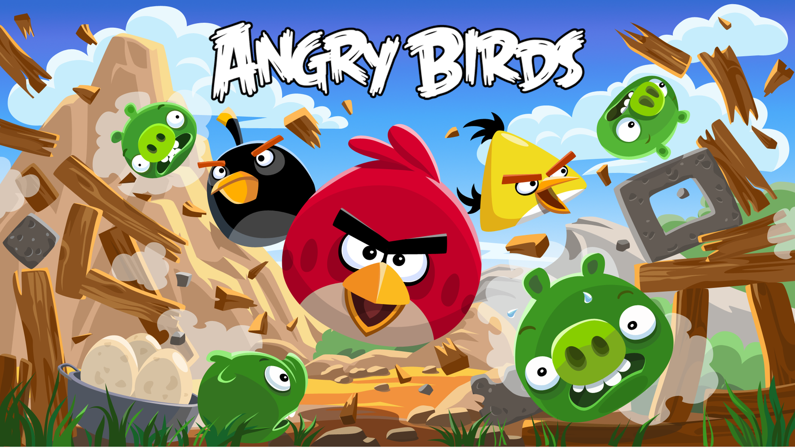 Les Angry Birds passent à l'attaque