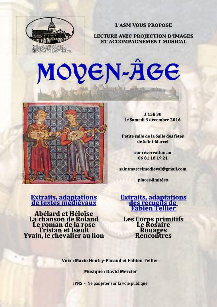 Le MOYEN - AGE à Saint- Marcel