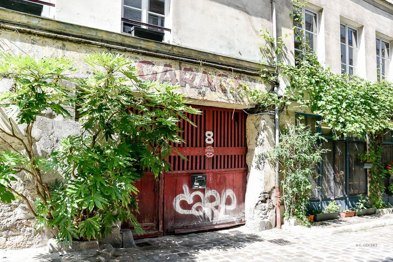 Ruelles à Paris