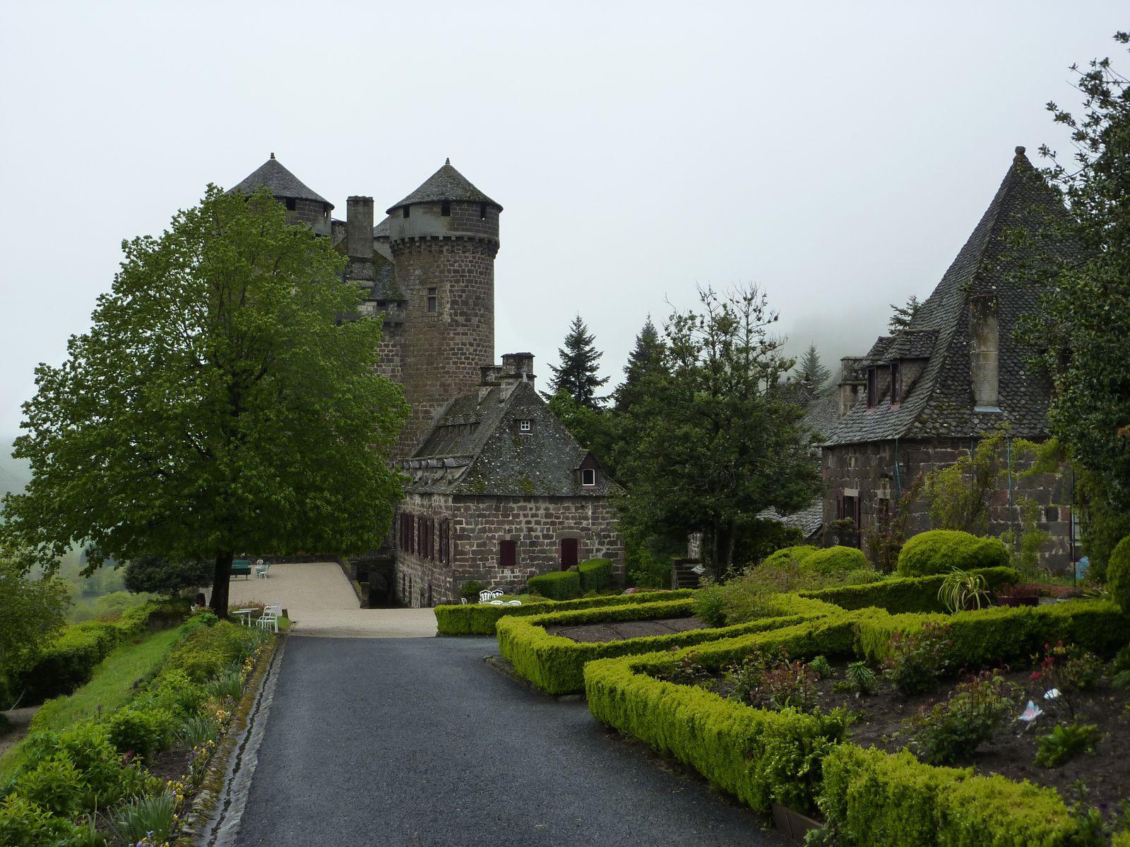 Le château toujours ...