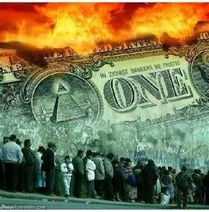 L'oppression satanique par la dette à intérêt.