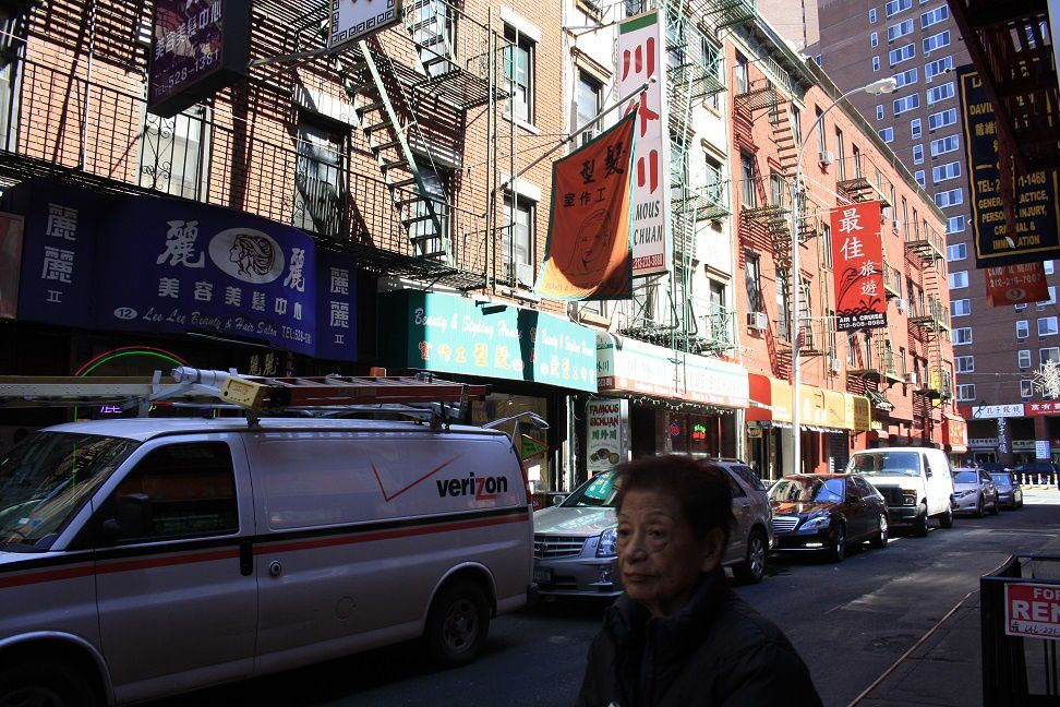Little Italy et Chinatown