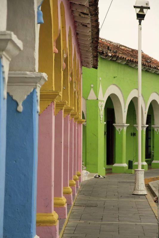 Tlacotalpan et ses rues colorées