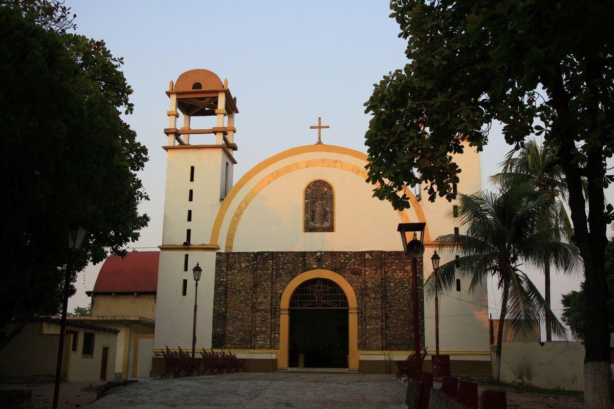 L'église de Palenque