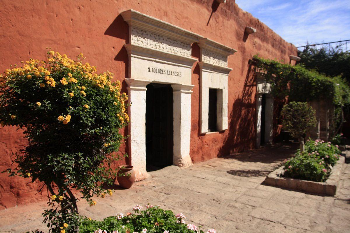 Les rues colorées du monastère