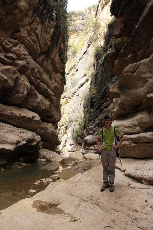 Au fin fond du canyon