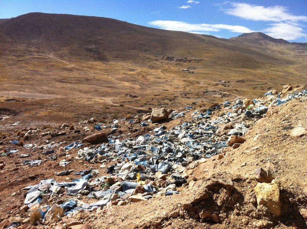Des ordures, encore et toujours