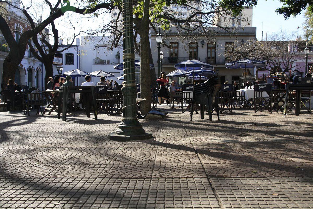 La place Dorrego