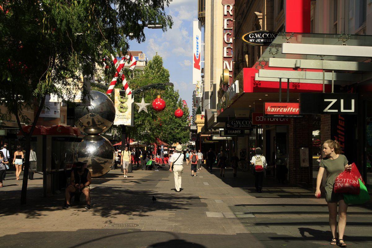 Les rues d'Adelaide