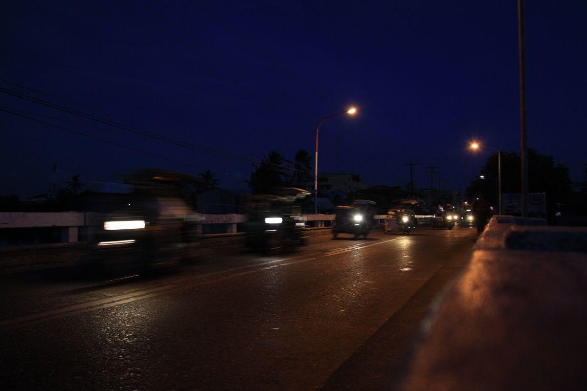 San Jose, la nuit tombée