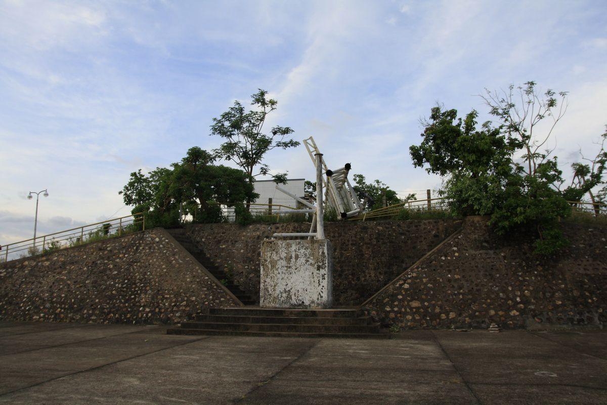 Les dégâts causés par le typhon