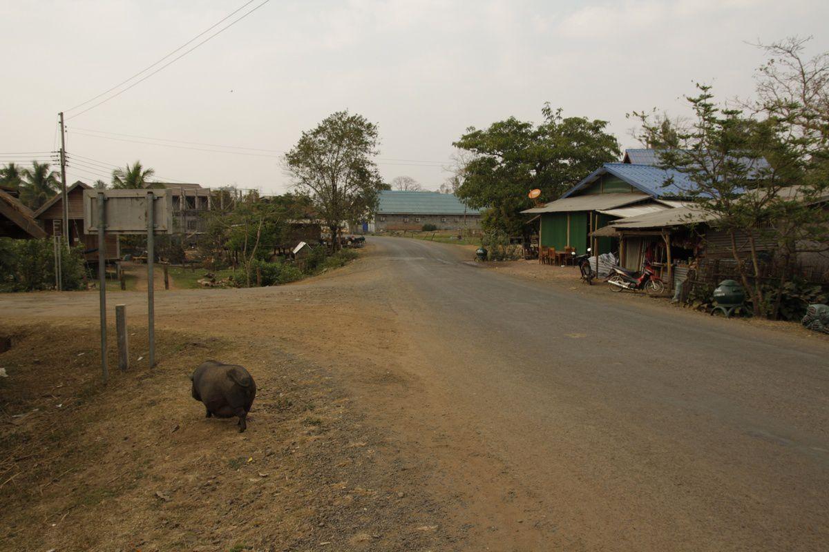 Le village de Tad Lo