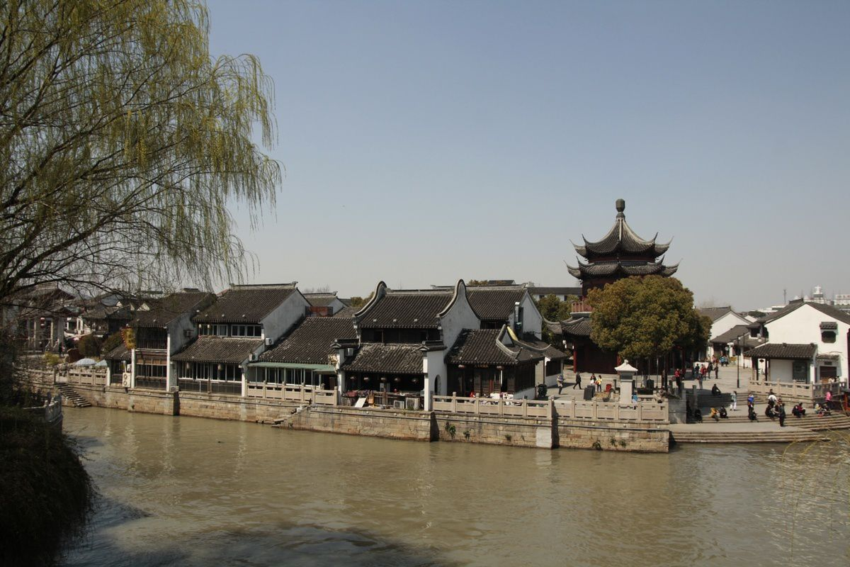 Balade dans les rues de Suzhou