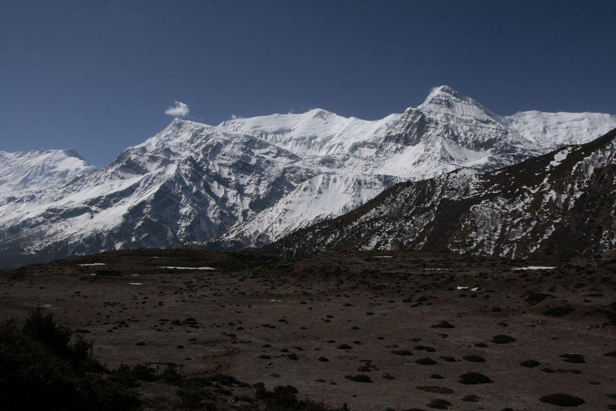 Entre Ghusang et Yak Kharka