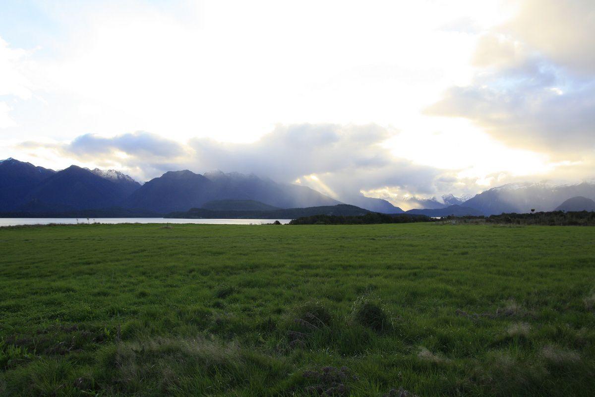 Vue sur le lac Manapouri