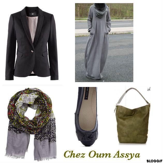 Nouvelle idée look hijab
