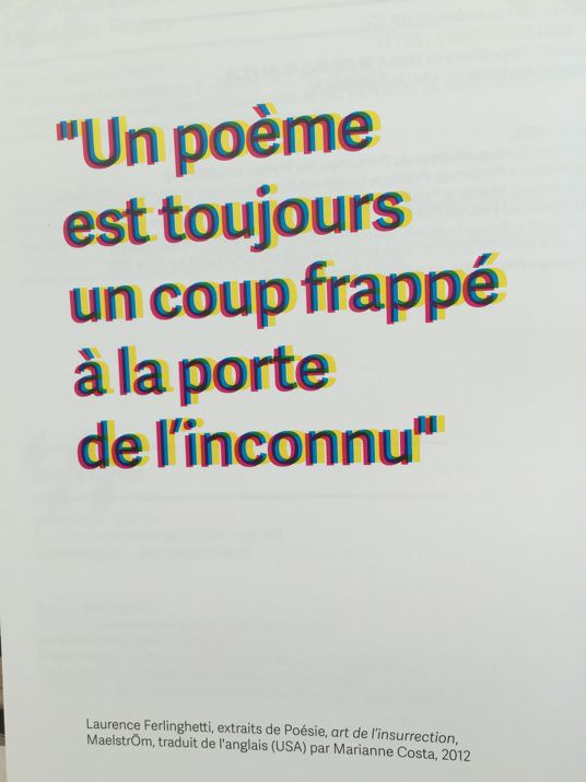 #essentiel et #poésie