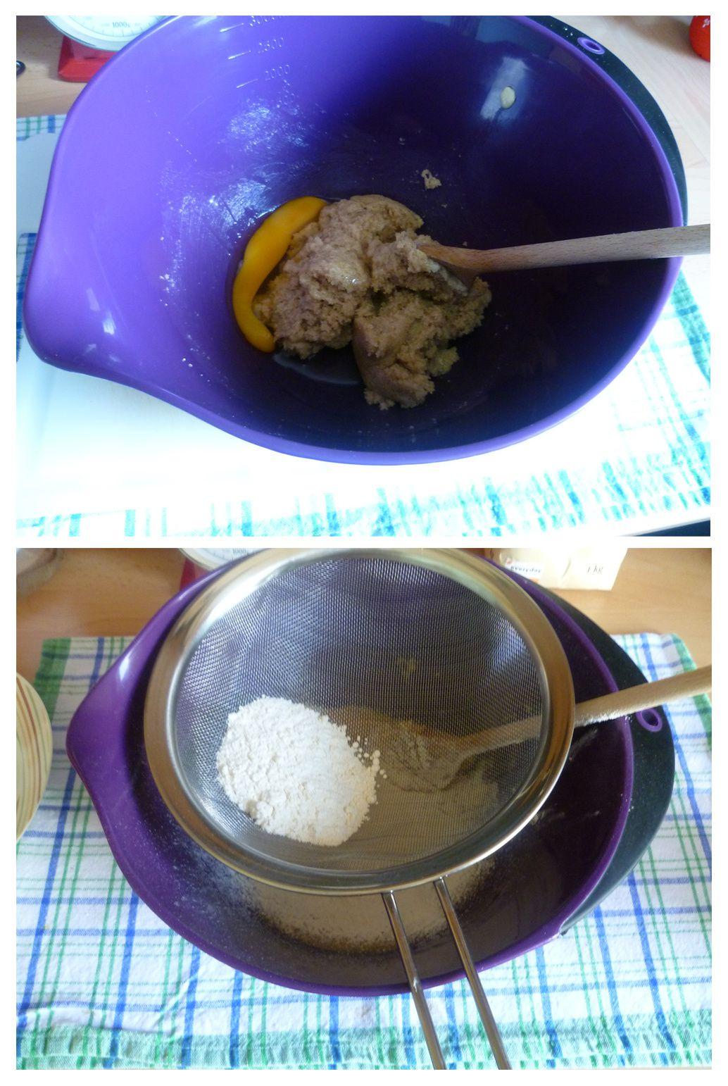 Muffins aux noix de pécan et au chocolat blanc
