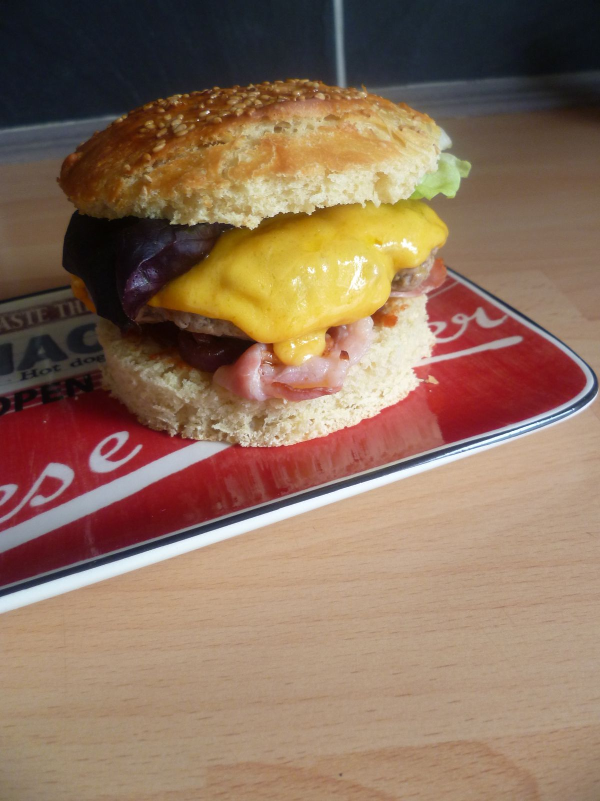 Hamburger « le super royal »