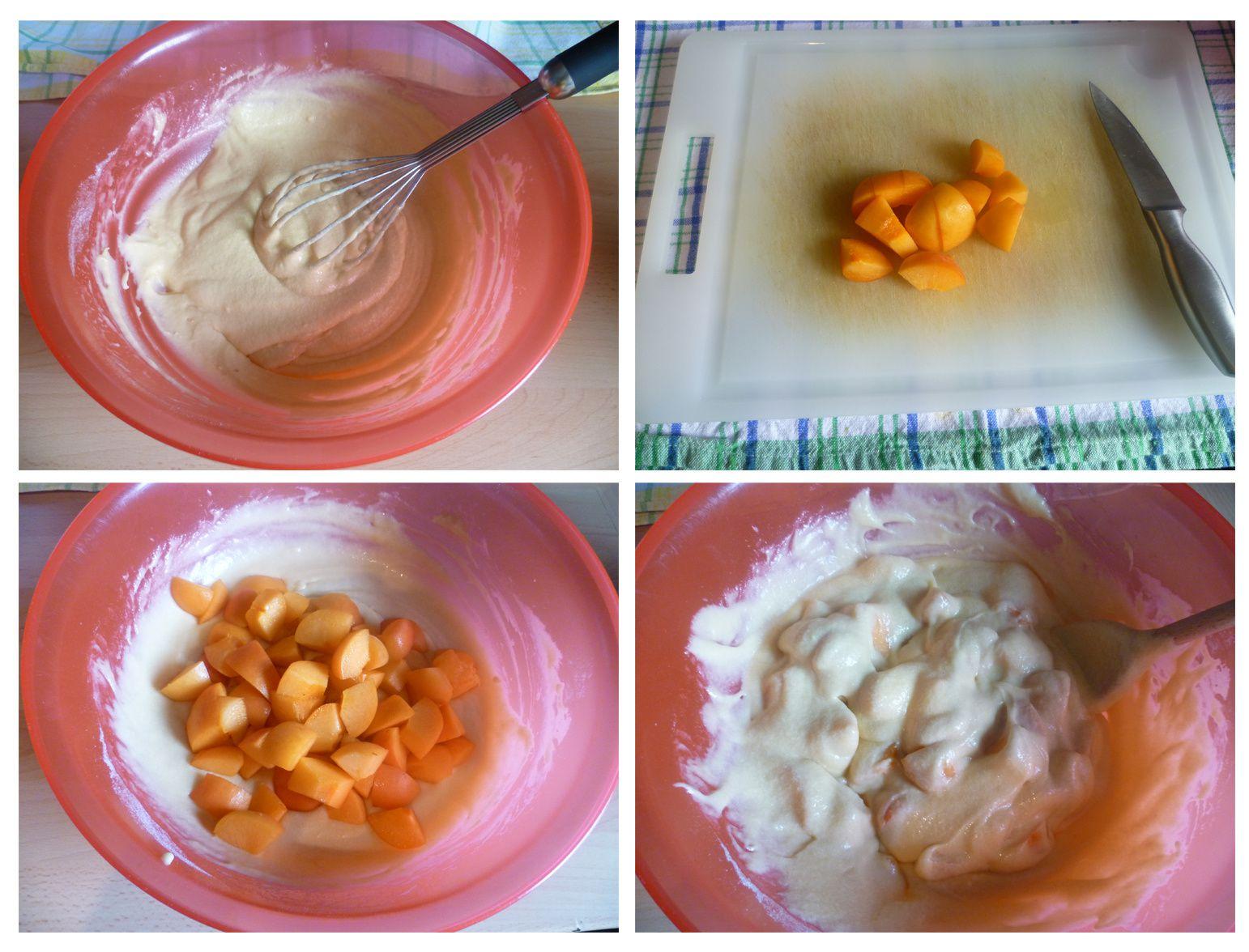 Cupcakes à l'abricot et crème au gingembre
