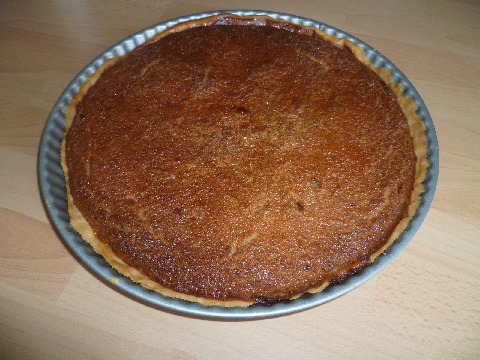 Honey Pie (tarte au miel et fleur de sel)
