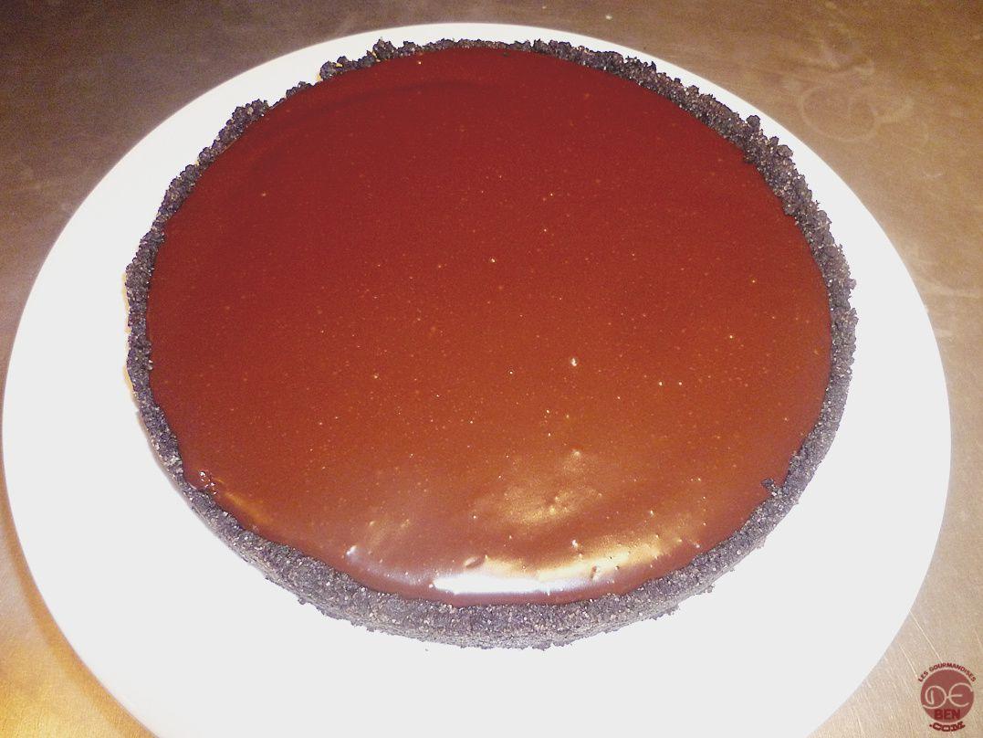 Tarte chocolat/caramel