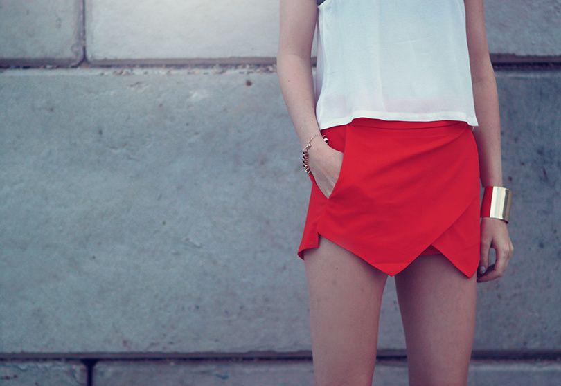 Fashiontrend: Skort