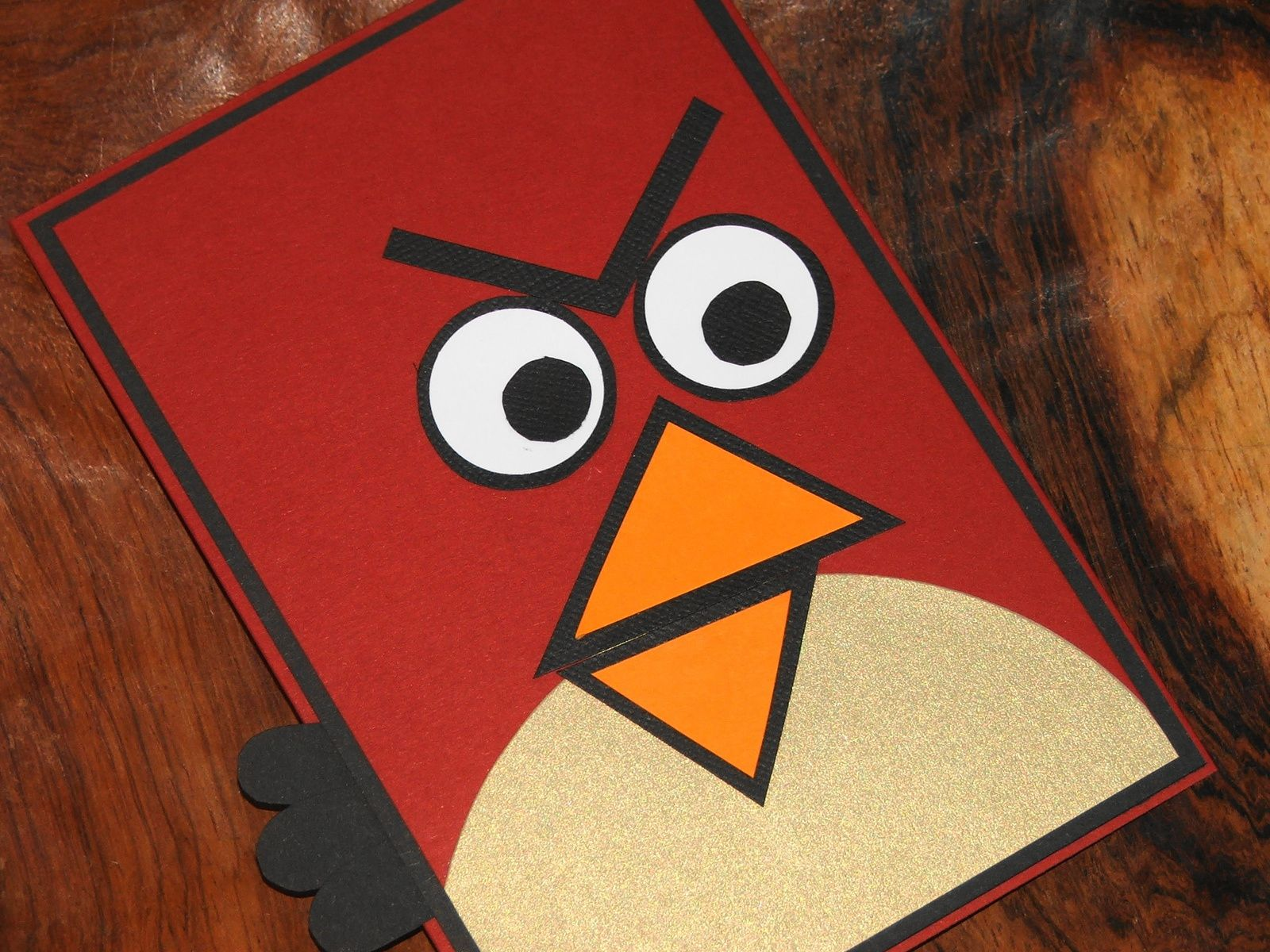 Carte Anniversaire Angry Birds