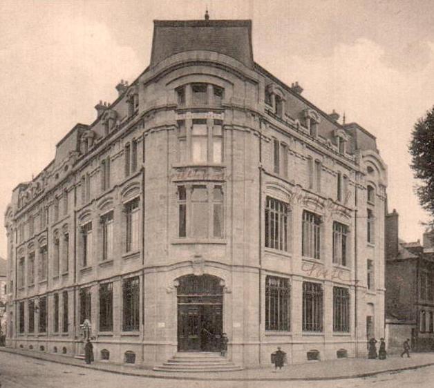 La poste du temps où elle était avenue Théodore-de-Banville