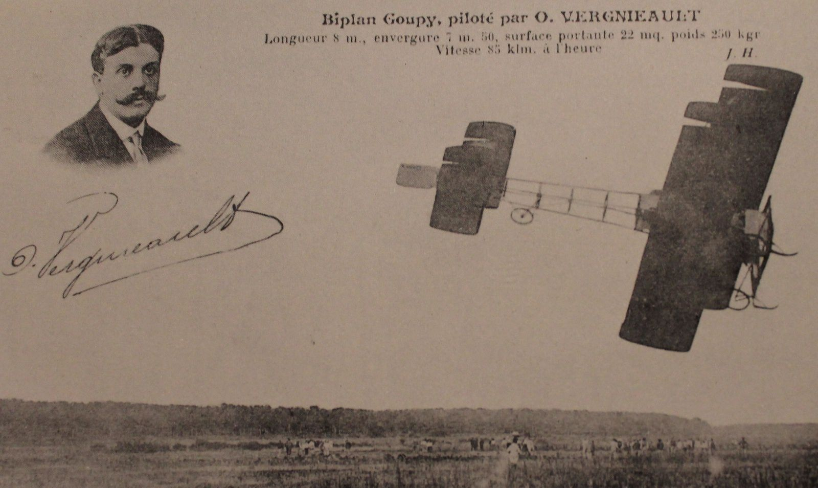 Un exceptionnel meeting d'aviation à Moulins en octobre 1912