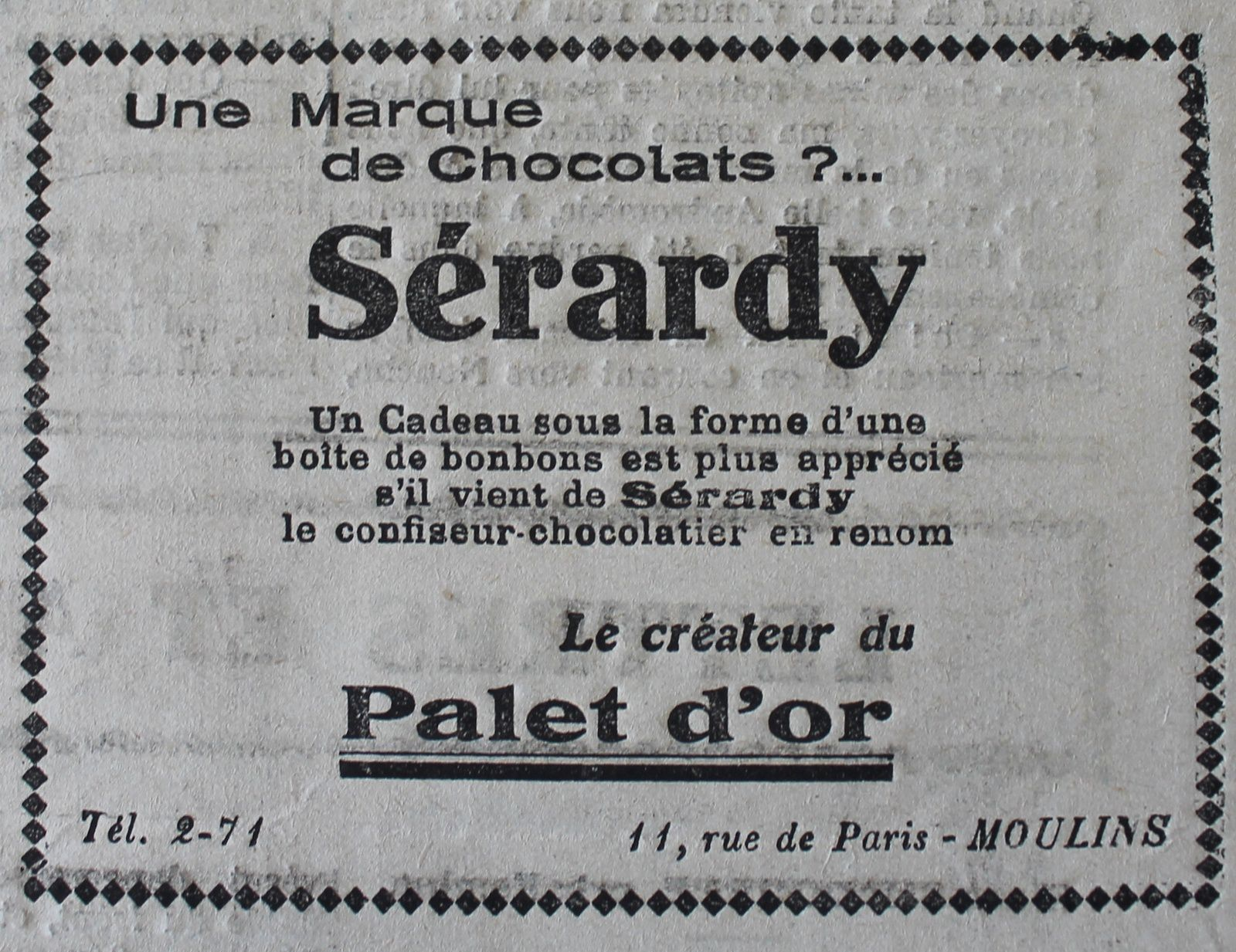 Le Courrier de l'Allier - décembre 1930
