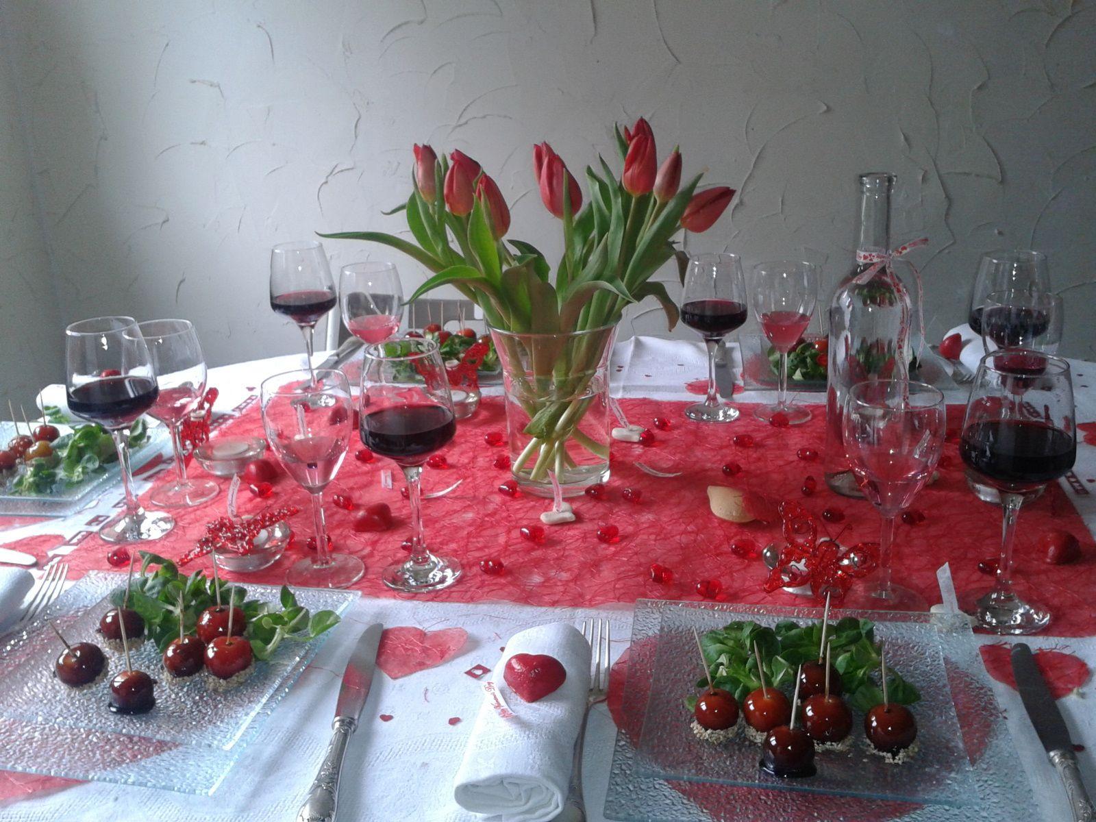 repas de St Valentin