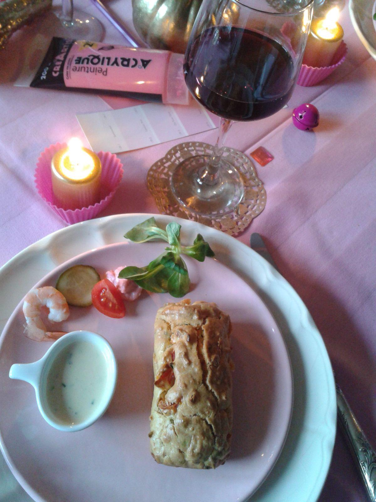 Nouvelle année et premier repas de 2013
