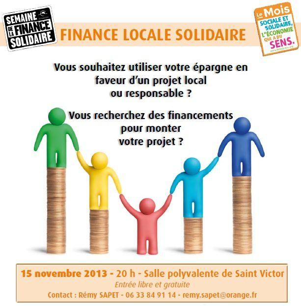 Soirée Finances Solidaires - La suite de l'organisation