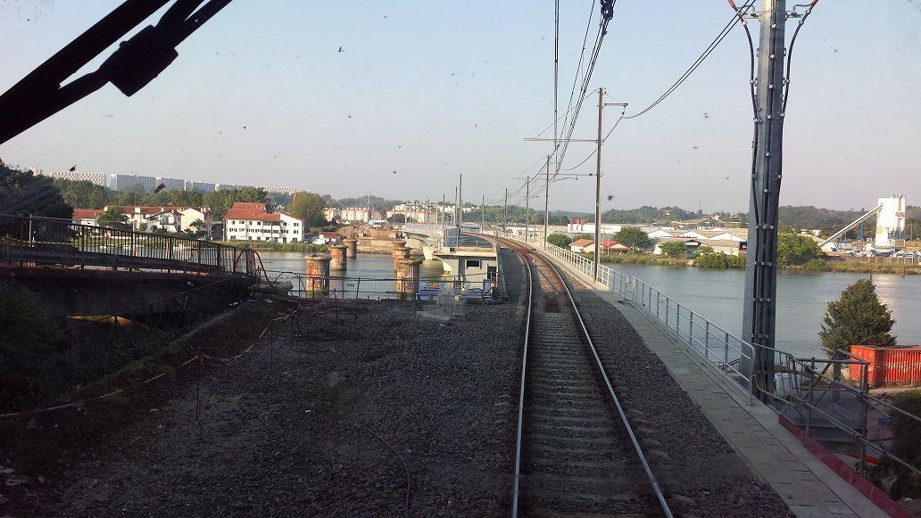 Le nouveau pont de Bayonne
